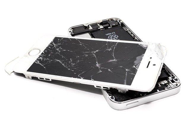 réparation vitre smartphone